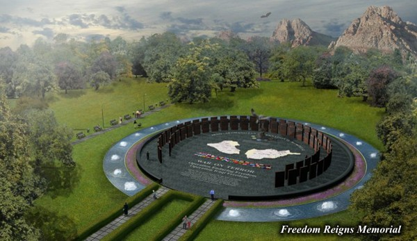 Freedom Reigns Memorial